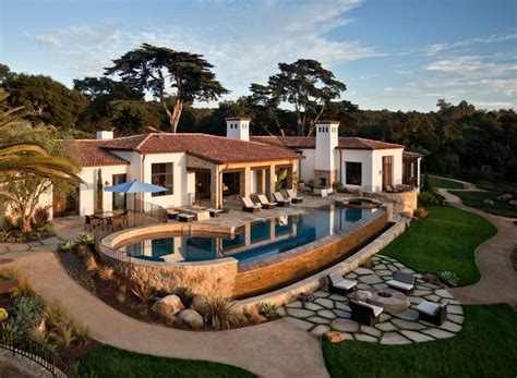 traditional ranch estate hiding modern amenities in