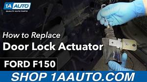 How To Replace Install Door Lock Actuator 98 Ford F