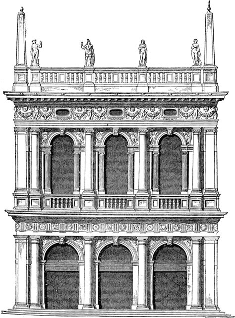 Old Library of St. Mark at Venice | ClipArt ETC