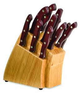 buck kitchen knives discount buck knives kitchen 13 cutlery set with cabernet paperstone handles with block