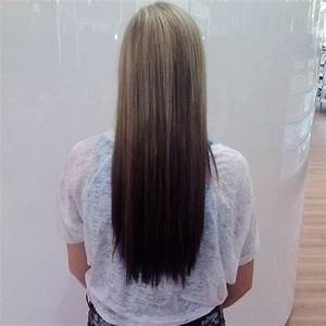 blonde to brown reverse ombre | hair styles | Pinterest ...