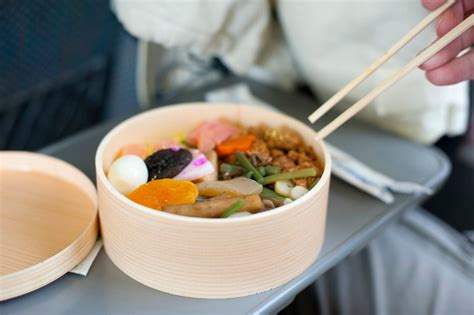 bento japanese cuisine bento or obento box with japanese food free stock image