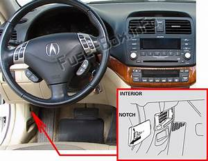 Fuse Box Diagram  U0026gt  Acura Tsx  Cl9  2004