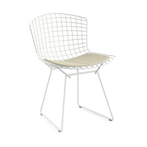 chaise bertoia blanche bertoia chair knoll international bertoia