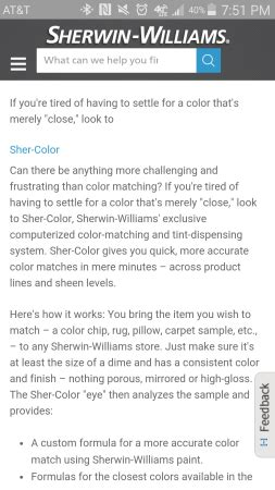 paint match lowes or home depot babycenter