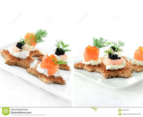 m and s canapes mixed canapes stock photo image 46142161