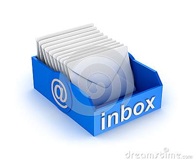 inbox icon white inbox mail icon with letters on white royalty free stock