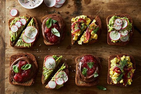A Smørrebrød Bar Makes for Sweet and Simple Self Serve Brunch