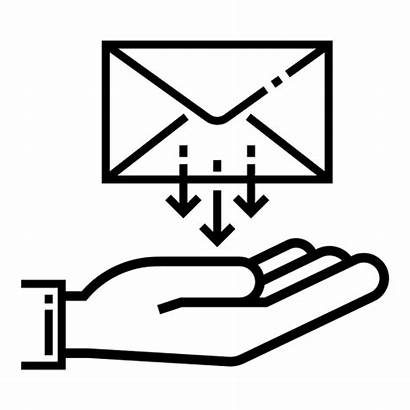 Icon Mail Receive Email Receiving Receiver Inbox