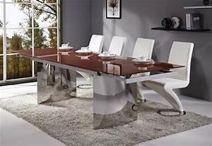 La meilleure table de salle a manger design en 42 photos for Meuble salle À manger avec chaise design rouge salle a manger