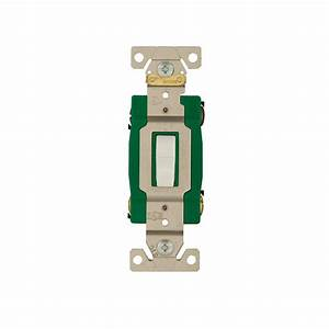 Eaton 30 Amp Double Pole Industrial Grade Toggle Switch