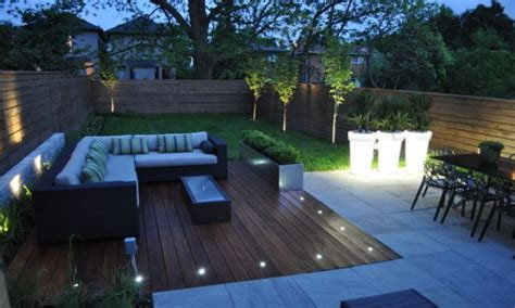 mesmerizing modern backyard idea with l shaped wicker sofa