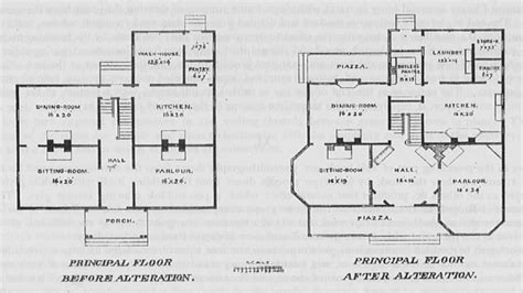 house plans historic haunted house house floor