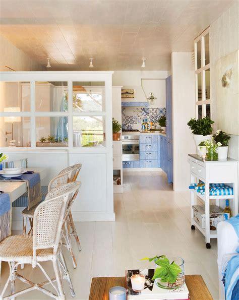 abierto al piso casa cocinas decoracion en tonos