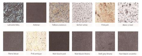 plan de travail cuisine granit granit plan de travail couleur chaios com