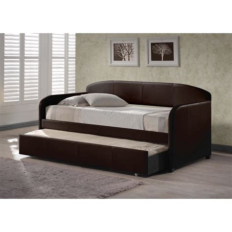 daybed that looks like a sofa hillsdale furniture springfield brown trundle day bed