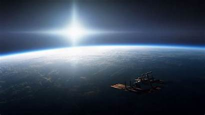 Space Earth Iss Atmosphere Station Night International