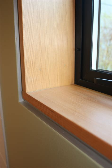 Flush Window Sill by Window Reveal Detail H2d Architecture Design