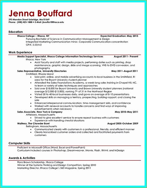 Excellent Graduate Primary Resume by 5 Sle Resume For Fresh College Graduate Free Sles Exles Format Resume