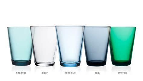 designer living kartio 13 5oz glass tumbler 2 pack hivemodern com