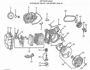1999 Ford Contour Transmission Diagram  Ford  Auto Parts Catalog And Diagram