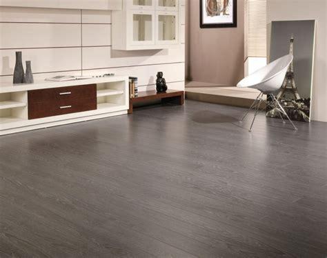 Sleek Grey Hardwood Floors to Exude Maximum Modernity