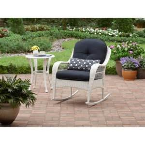 better homes and gardens azalea ridge rocker white walmart