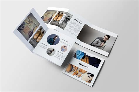 product square brochure brochure templates creative market
