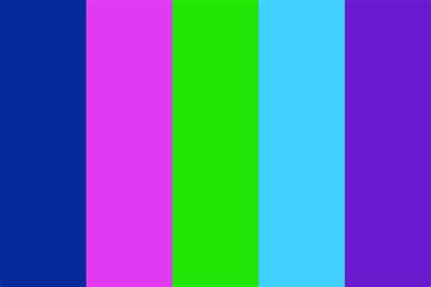 bright color palette bright neon sparks color palette