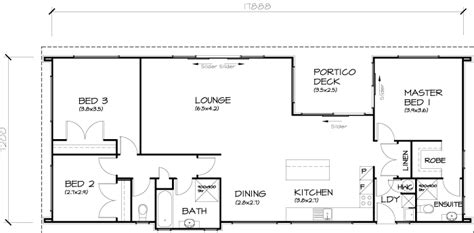 3 bedroom transportable home 125sqm