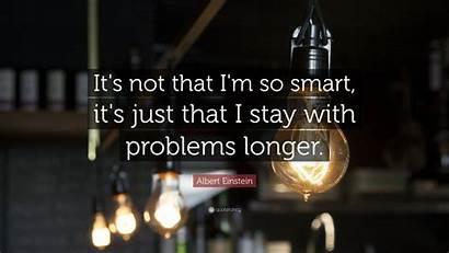 Einstein Albert Quotes Smart Quote Quotefancy Longer