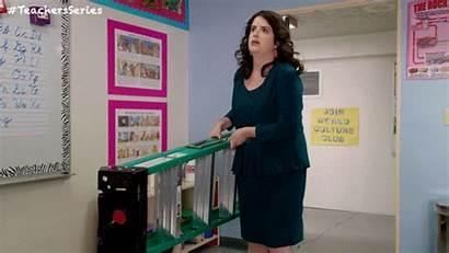 Teachers Tv Gifs Land Fun Funny Ladder