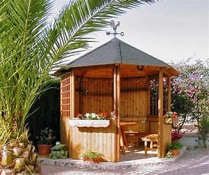 Gartenpavillon Holz Geschlossen : gartenlaube grilllaube und pavillon aus holz offen sunlight 6eck kaufen ~ Whattoseeinmadrid.com Haus und Dekorationen