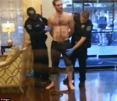 video shows policeman mistaking mans penis   weapon
