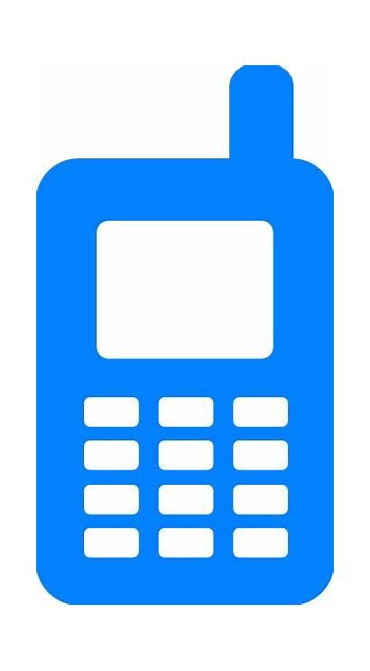 Mobile Clipart Clip Cellphone Cliparts Transparent Vector