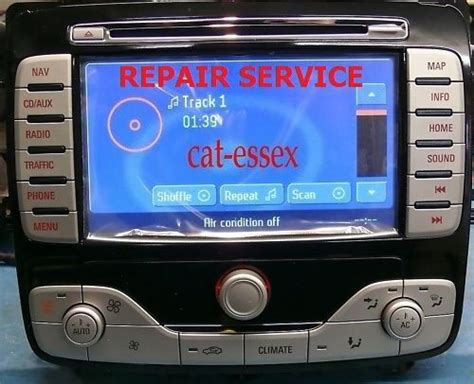 ford mondeo s max galaxy hsrns nx sat nav touch screen navigation repair service ebay