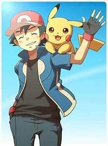 Ash Ketchum and Pikachu from Pokémon. ( Looks like the XY ...
