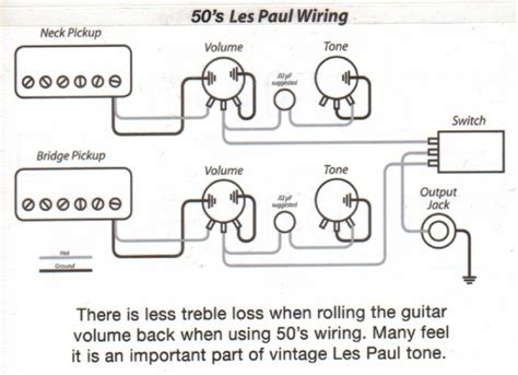 gibson 50 s wiring diagram 26 wiring diagram images