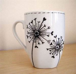 Creative, Hand, Painted, Coffee, Mug, Designs
