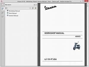 Vespa Lx150 - Service Manual - Owners Manual