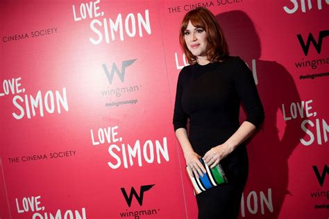 molly ringwald new film molly ringwald at love simon film premiere new york