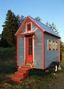 Xs House From Tumbleweed Tiny Houses Is 65 Square Feet On