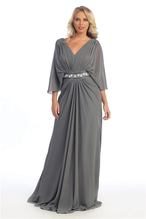 plus size formal dresses with sleeves stylish dress