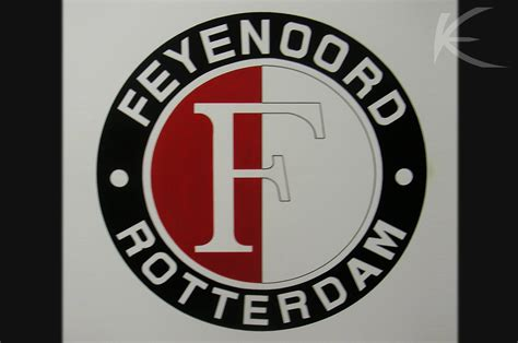 everaerts design paneelschilderij feyenoord logo