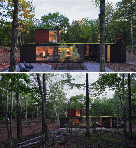 House In The Forest by 18 Modern Houses In The Forest Contemporist