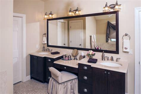 fresh bathroom bathroom vanity  makeup station