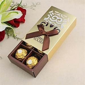 aliexpresscom buy 100pcs wedding favors gold color With wedding favor chocolate boxes