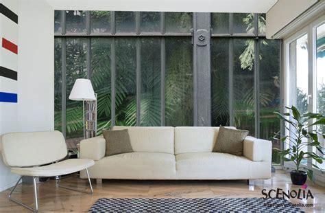 tapisserie de cuisine papier peint monobloc décor d 39 un seul tenant scenolia