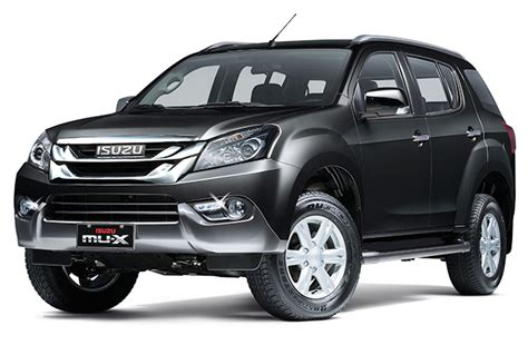 Isuzu Mux Modification by Isuzu Mu X S New Features Cruise Rear Spoiler