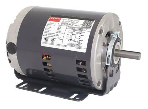 dayton 3 4 hp belt drive motor split phase 1725 nameplate rpm 115 208 230 voltage frame 56h